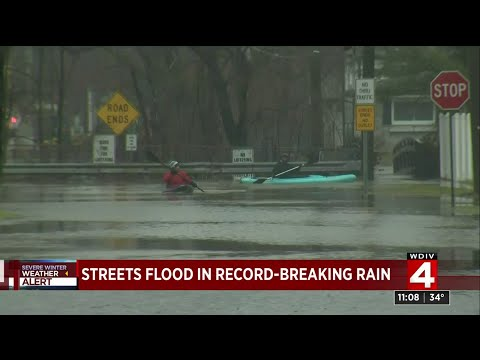 Flooding in Metro Detroit neighborhoods after record rainfall