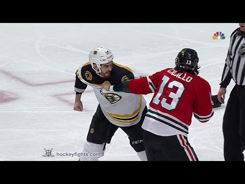 Adam McQuaid vs Dan Carcillo
