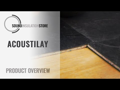 Video on how acoustilay works
