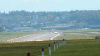 preview picture of video 'take-offs & landings in Zurich airport'