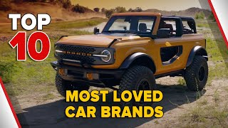 Top 10 Most Loved Car Brands of 2020