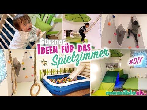 Günstige Ideen für das Spiel und Kinderzimmer 🐒🌴   DIY   Roomtour   mamiblock