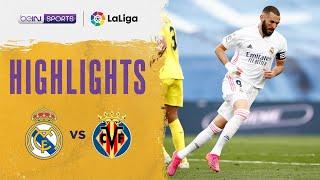 Real Madrid 2-1 Villarreal Pekan 38