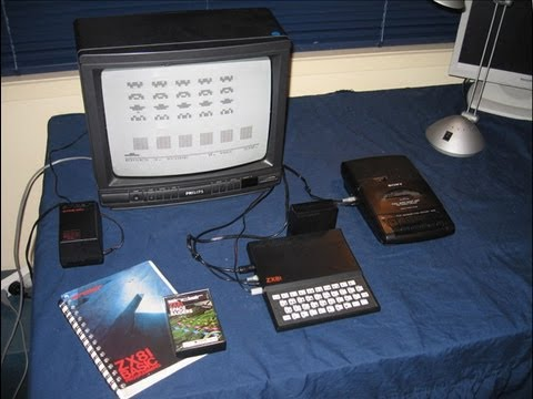 The Sinclair ZX81: As seen in Tezza's classic computer collection