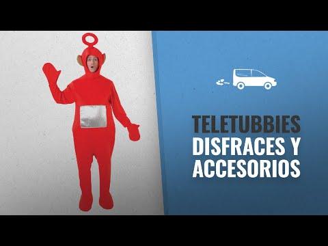 10 Mejores Disfraces Y Accesorios De Teletubbies: Rubies Disfraz de teletubbie Po oficial rsquo;s,