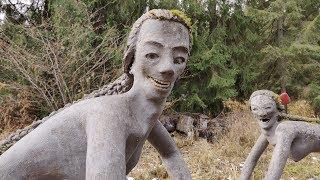Most Terrifying Garden On Earth! Veijo Rönkkönen Sculpture Garden - Parikkala, Finland   IntoTheWild