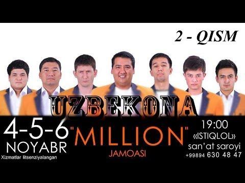 Миллион жамоаси концерт дастури 2013 (2-кисм)