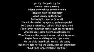 Trey Songz Hail Mary ft. Young Jeezy and Lil' Wayne Lyrics