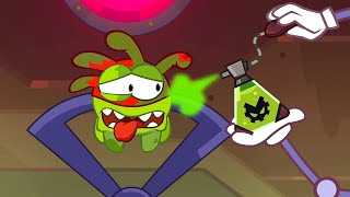 Om Nom Stories 💚 Super Noms - Poisonous clouds (Cut the Rope) 💚 Kedoo ToonsTV
