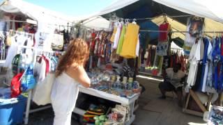 British Virgin Islands open market on the Island of Tortola