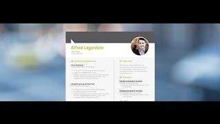 """Best Resume """"Organised"""" by Mycvfactory"""