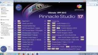 Descargar Y Desempaquetar Pinnacle Studio 17 HD Ultimate + Contenidos Extras