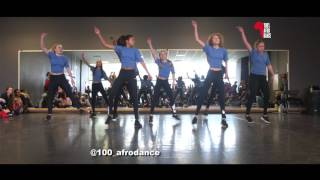100% AfroDance Workshop ShowCase  Petit Afro & Tresor Nzita || HrnMovie