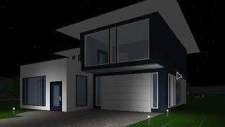 Roblox | Bloxburg | Budget Build | Modern House