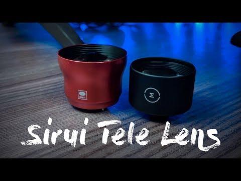 Sirui 2X Telephoto Lens vs Moment Tele Lens   Google Pixel 2 XL