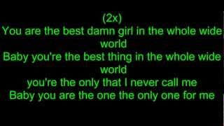 Taio Cruz - Best Girl - Lyrics [HD]