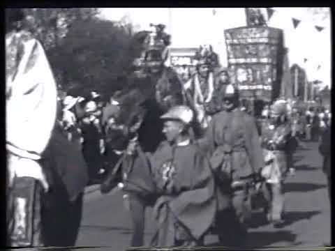 Bendigo Easter Fair Procession & Sports – 1933