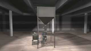 Akyurek Technology - Animated video of Continuous Seed Treatment Machine