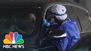 Bay Area Rolls Back Reopening After Surges In Coronavirus Infections | NBC News NOW