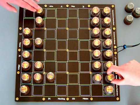 Nixie Tube Chess Set Is As Tough To Read As Kasparov