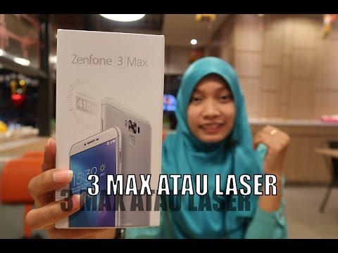 UNBOXING ASUS ZenFone 3 MAX ZC553KL Indonesia - Versi Snapdragon
