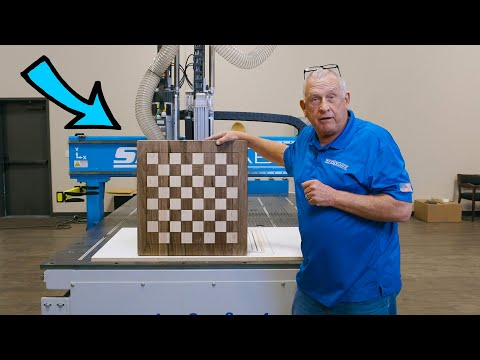 ShopSabre CNC – Chess Board on IS Series Routervideo thumb