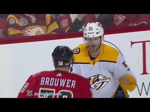 Troy Brouwer vs. Austin Watson