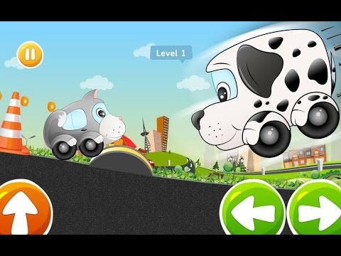 Игра в Машинки, Мультик про Гоночки, Детская Развивающая Игра, Beepzz