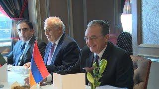 Министр иностранных дел Армении встретился с государственным секретарем министерства внутренних дел Федеративной Республики Германии