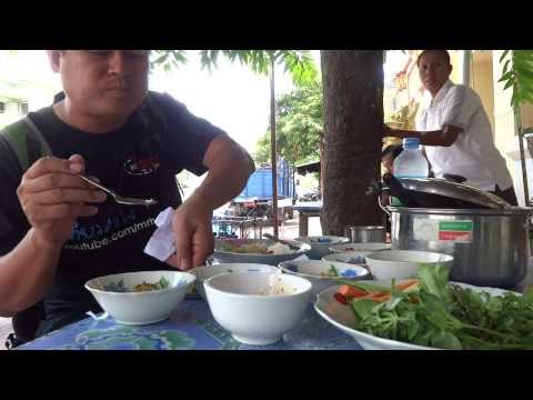 Mandalay myanmar street food ชิมอาหารพม่ามัณฑะเลย์