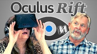 Реакция стариков на OCULUS RIFT /  Иностранцы пенсионеры в очках Окулюс Рифт [ИндивИдуалист]