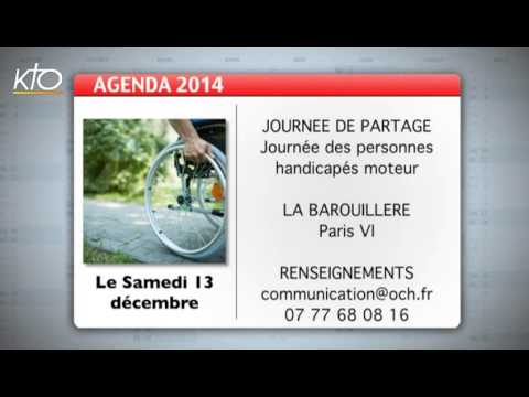 Agenda 5 décembre 2014