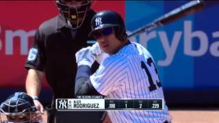 Marcador: Top HRs en el dia de ayer en la MLB