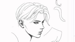 David Finch Hair Drawing Tutorial