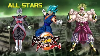 THE RETURN OF THE ALL STAR TEAM  DRAGONBALL FIGHTERZ ONLINE MATCH!!