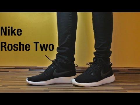 👟 Nike Roshe Two - Black/White On-Feet👟