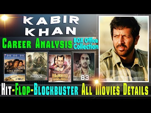 Director Kabir Khan Box Office Collection Analysis Hit and Flop Blockbuster All Movies List.