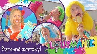 Lollymánie S02E30 - Barevné zmrzky!