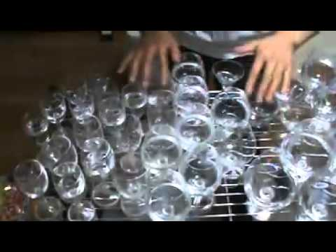 Check Out This Unbelievable Performance Of The Mario Theme On Wineglasses. Wineglasses.