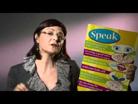 Speak A3 poster
