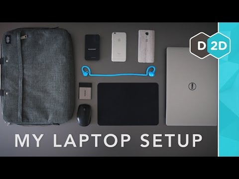 My Laptop Setup #1 - Dave2D