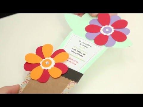 Invitaciones Para Una Fiesta Infantil Manualidades