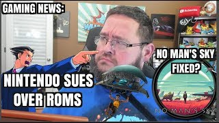 Gaming News: Nintendo SUES for $100M! No Man