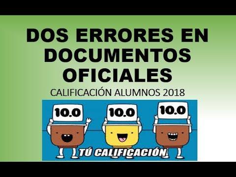 Soy Docente Errores En La CalificaciÓn De Los Alumnos Anexo De Normas De Control Escolar 2018