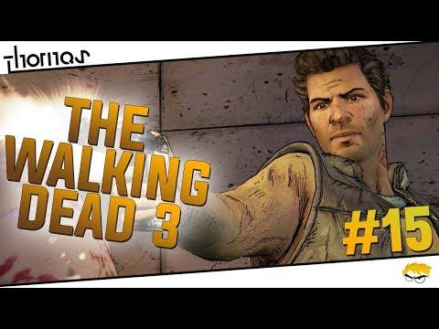 The Walking Dead 3 - |#15| - Velmi křehké vztahy! | Český Let's Play | Český překlad (částečný)