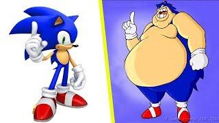 Cartoon Characters As Fat 2018