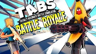 TABG: TOTALLY ACCURATE BATTLEGROUNDS! A TABS BATTLE ROYALE GAME - TABG Gameplay