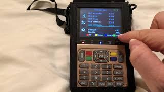 Configuring the GT Media V8 Gold Satellite Finder for Terrestrial Digital Amateur TV Reception