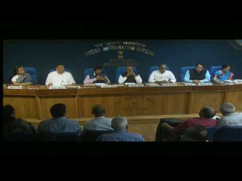 Press Conference by Union Minister Thaawarchand Gehlot on key initiatives during 4 years of govt.