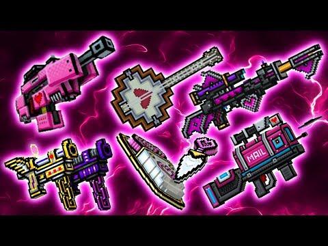 Pixel Gun 3D - Valentine Weapons New UPDATE 15.99.0